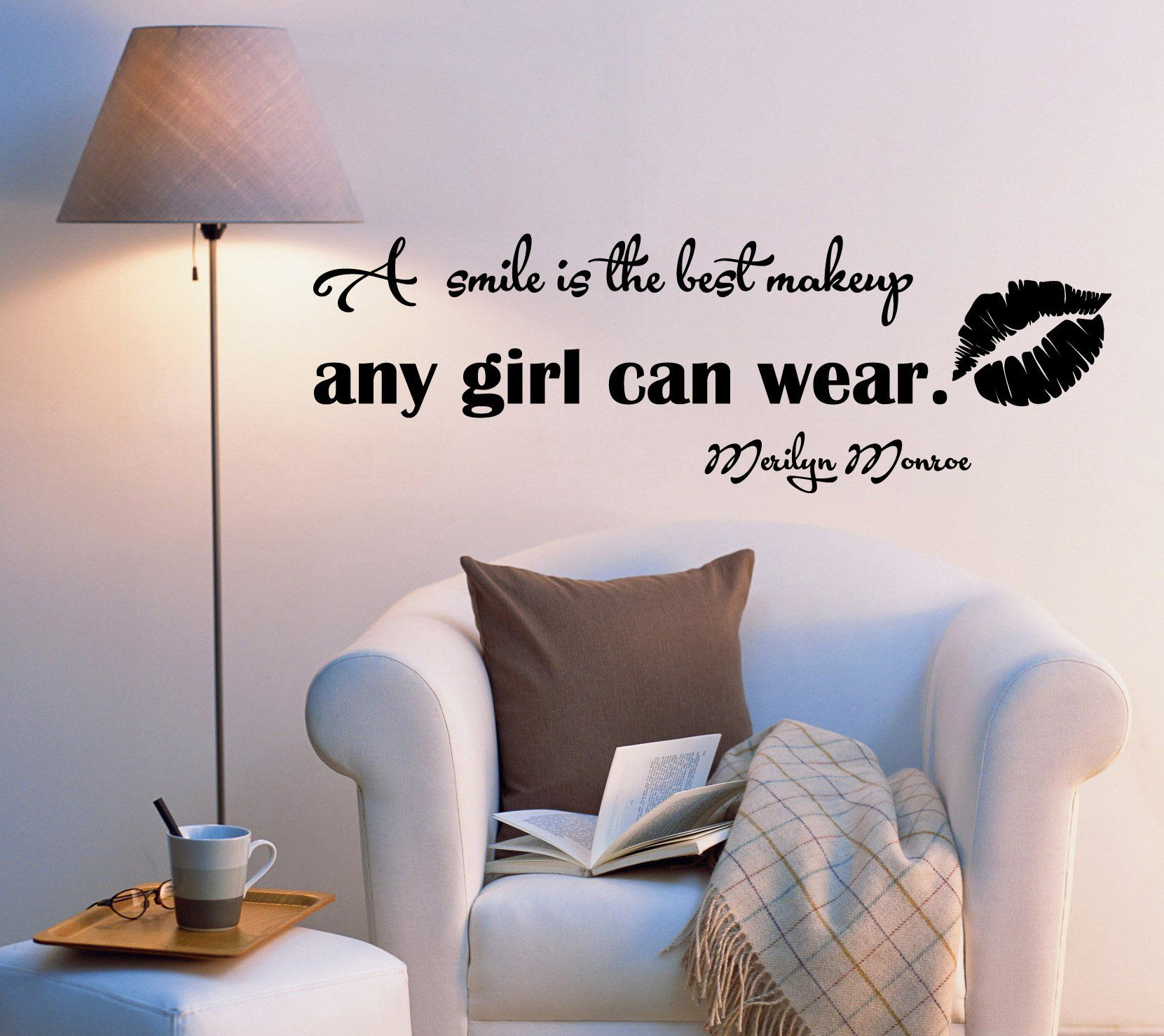 Vinyl wall decal motivation celebrity quote words letters about vinyl wall decal motivation celebrity quote words letters about beauty monroe inspiring stickers 2004ig 225 amipublicfo Image collections
