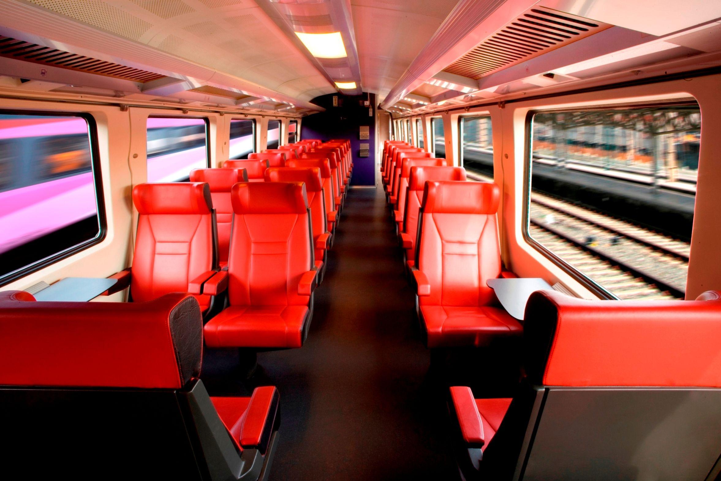 Beautiful Fyra train interior, italian design | Trains | Pinterest