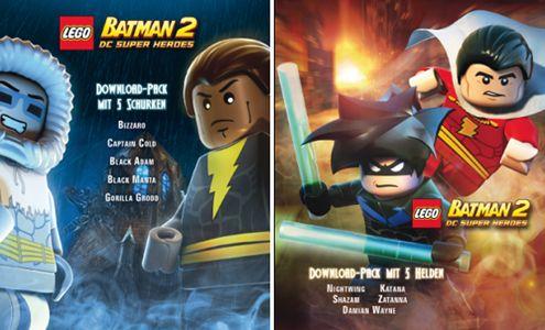 e7ece0ba1ae12d Lego Batman 2 : Deux packs DLC | Heroes & Villains