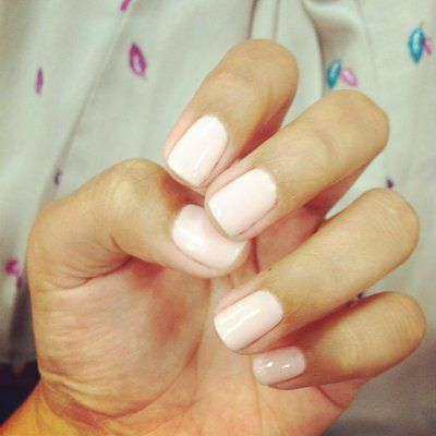 pale pink gel nails | Hair and Beauty | Pinterest | Pink gel nails ...