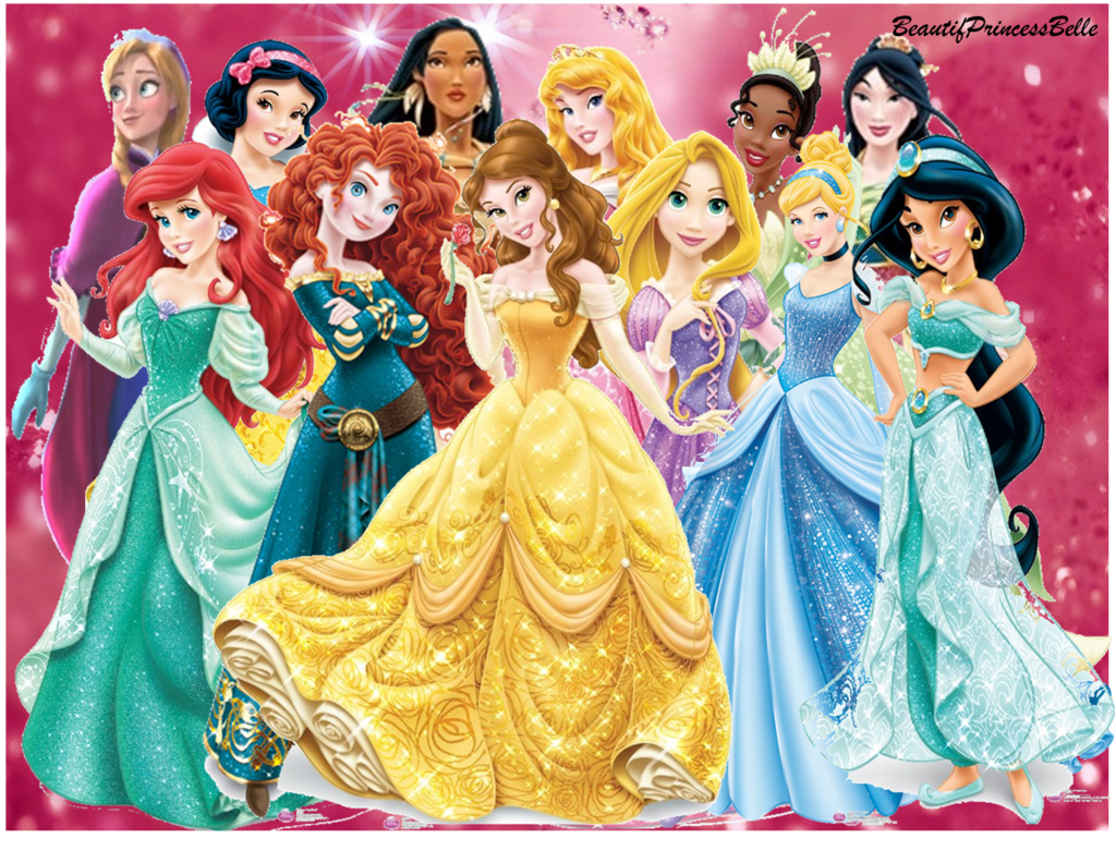 Disney Princesses New Look With Princess Anna by
