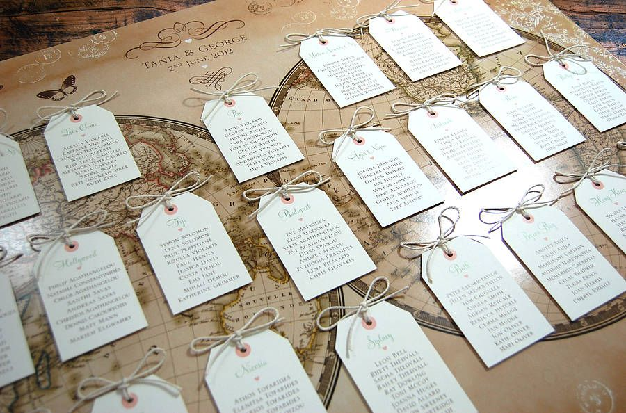 Vintage style word map wedding table plan pinterest table plans vintage style world map wedding table plan layered with panels publicscrutiny Image collections