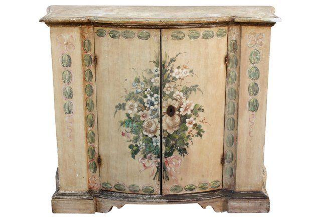 Credenza La Dolce Vita : Th c italian credenza antique furniture painted