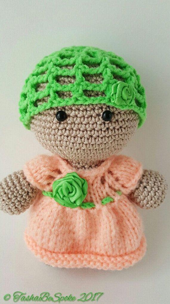 Doll Plush Toy Crochet Doll Amigurumi Doll Big Head Baby Doll ...