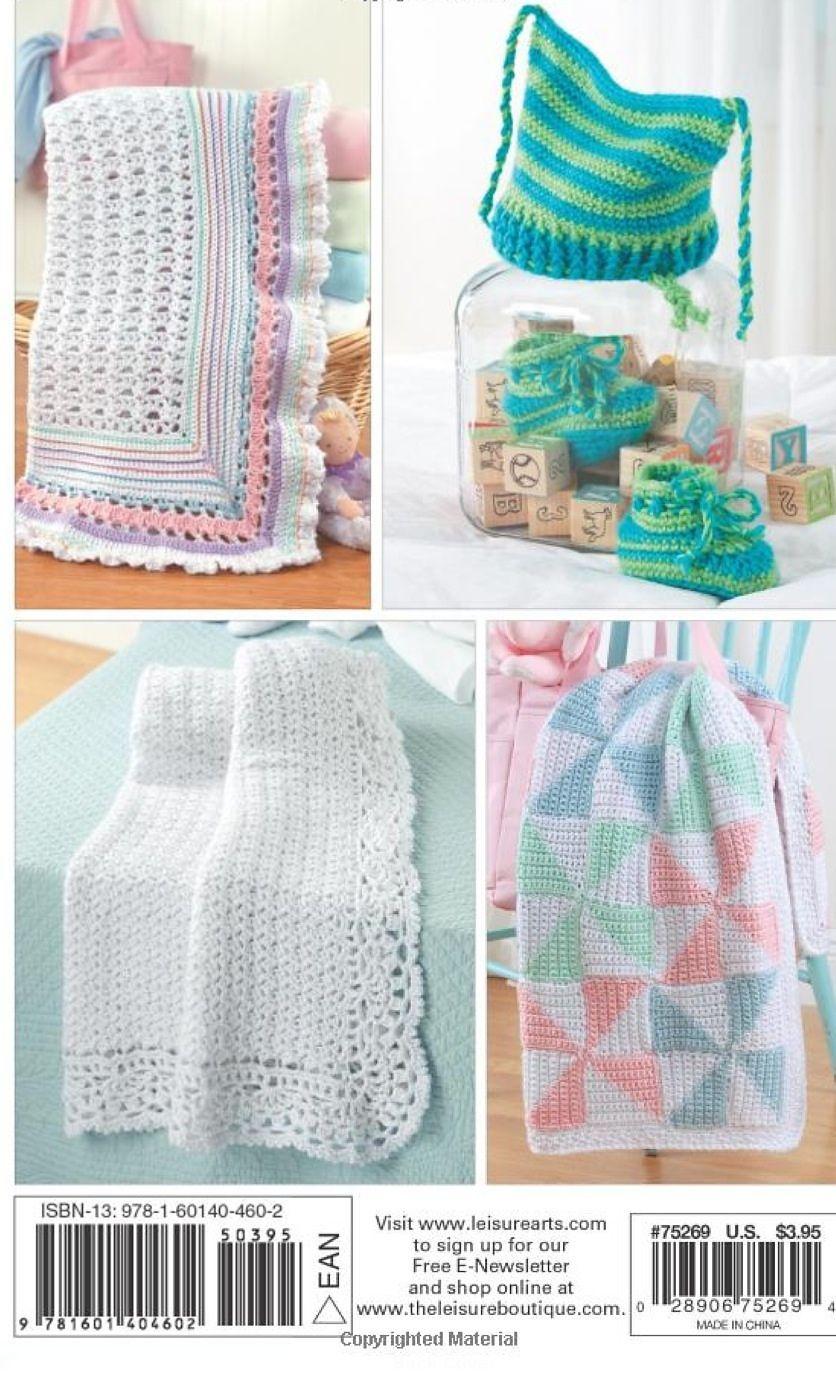Pinwheel Baby Blanket pattern by Marilyn Losee | crocheting
