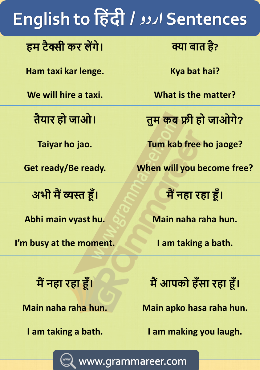 Hindi To English Sentences For Practice English Speaking Sentences With Hindi And English Sentences English Vocabulary Words Learning English Learning Spoken [ 1200 x 844 Pixel ]