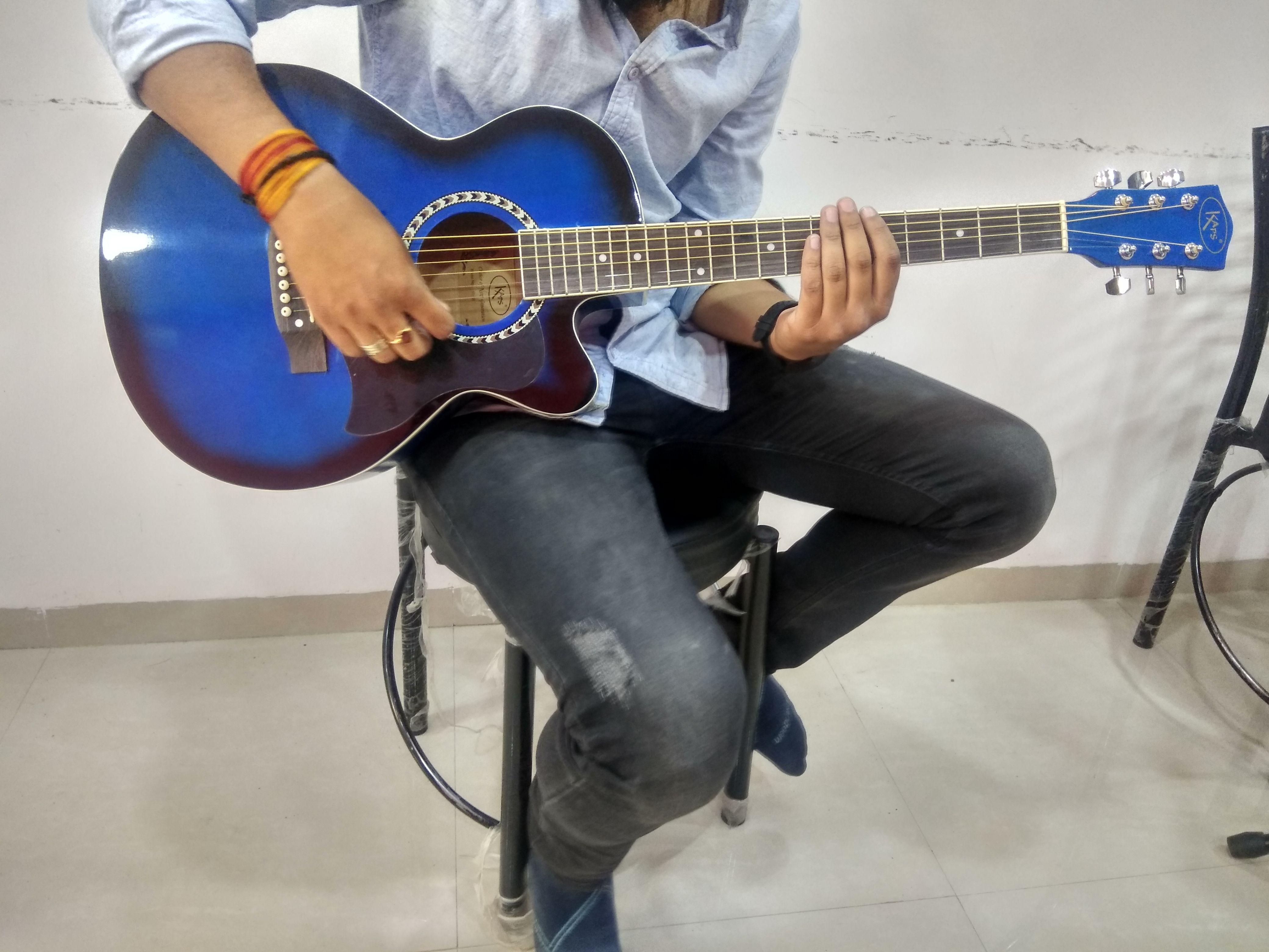 Kaps Acoustic Guitar St 1r New Model For Beginners Semi Acoustic Guitar Acoustic Guitar Guitar