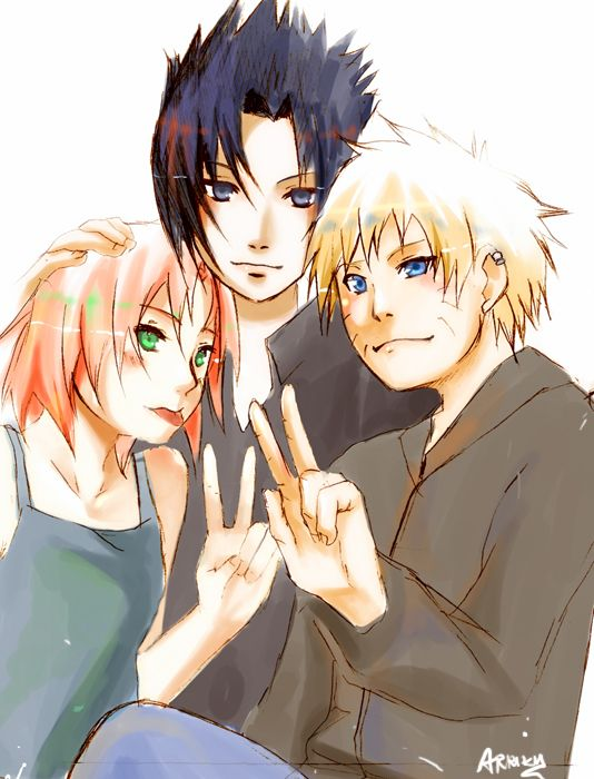 Naruto threesome fanfictions