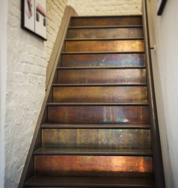 Wood Stairs Painted Risers: Um, Now We Wish We Had Stairs!