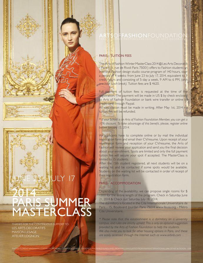 Arts Of Fashion Foundation Masterclass Under Pressure Dress Design Magnhild Sundland From Norway Les Arts Decoratifs Salon Des Boiseries Photographer F
