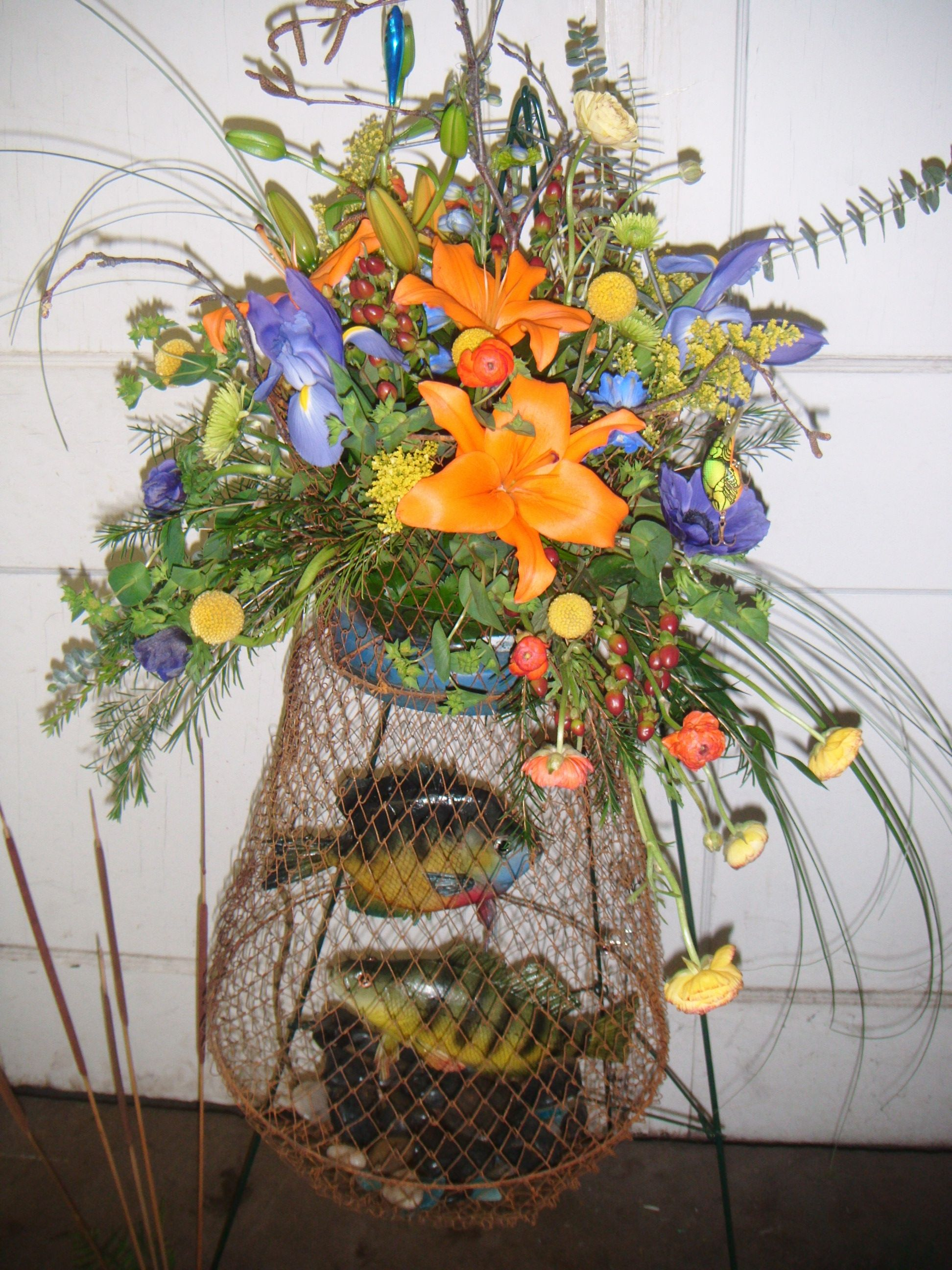 This arrangement was made for the funeral of a gentleman who was an this arrangement was made for the funeral of a gentleman who was an avid fisherman izmirmasajfo