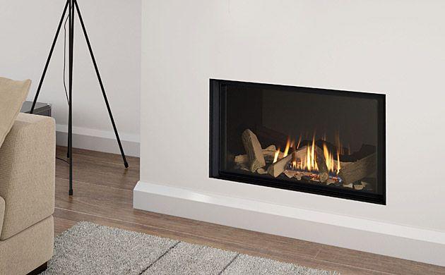 1 Infinity 780fl Black Glass Liner Gas Fires Pinterest