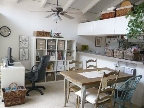 Hmm Very Office Like But I Can See Switching Back To A Dining Room