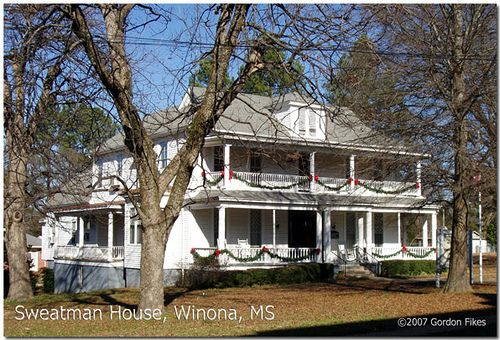 Sweatman Webster House Winona Montgomery County Ms Webster House Old Houses For Sale House