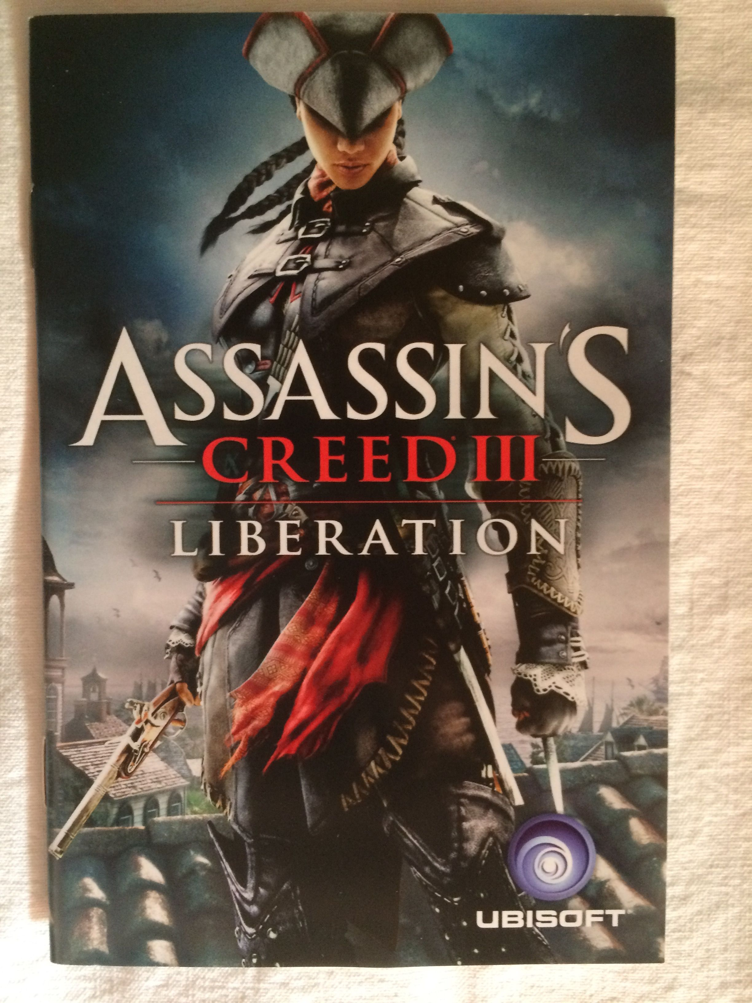 Assassin S Creed Iii Liberation Instructions Booklet Assassins