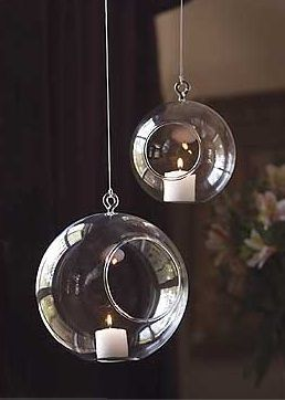 Mothology Hanging Glass Globes With Images Hanging Candle