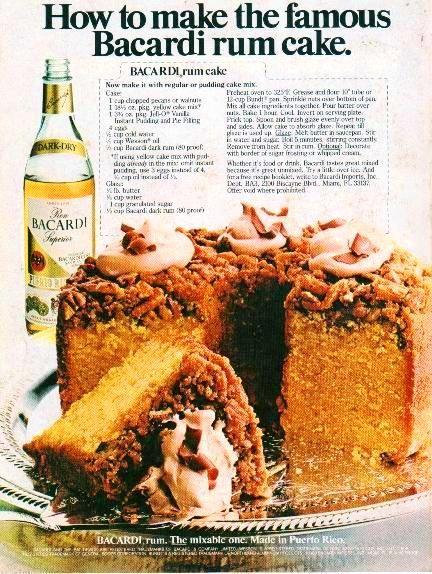 Wesson Oil Rum Cake Recipe
