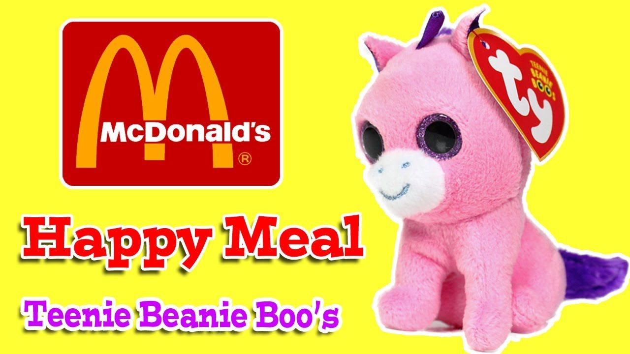 ee57af5fe28 McDonalds Happy Meal Toy - Teenie Beanie Boo Beanie Babies