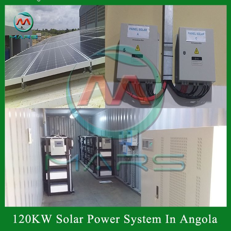 Solar Energy System In Angola In 2020 Solar Power System Solar Power Solar Energy System