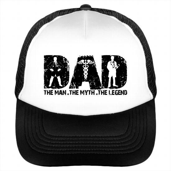 fcbfab42c Nurse DAD Hat Best Gift For Fathers Day Nurse The Legend DAD Caps ...
