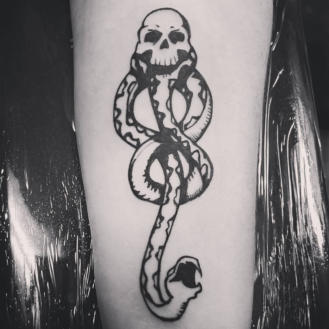 101 Amazing Dark Mark Tattoo Designs You Need To See! in