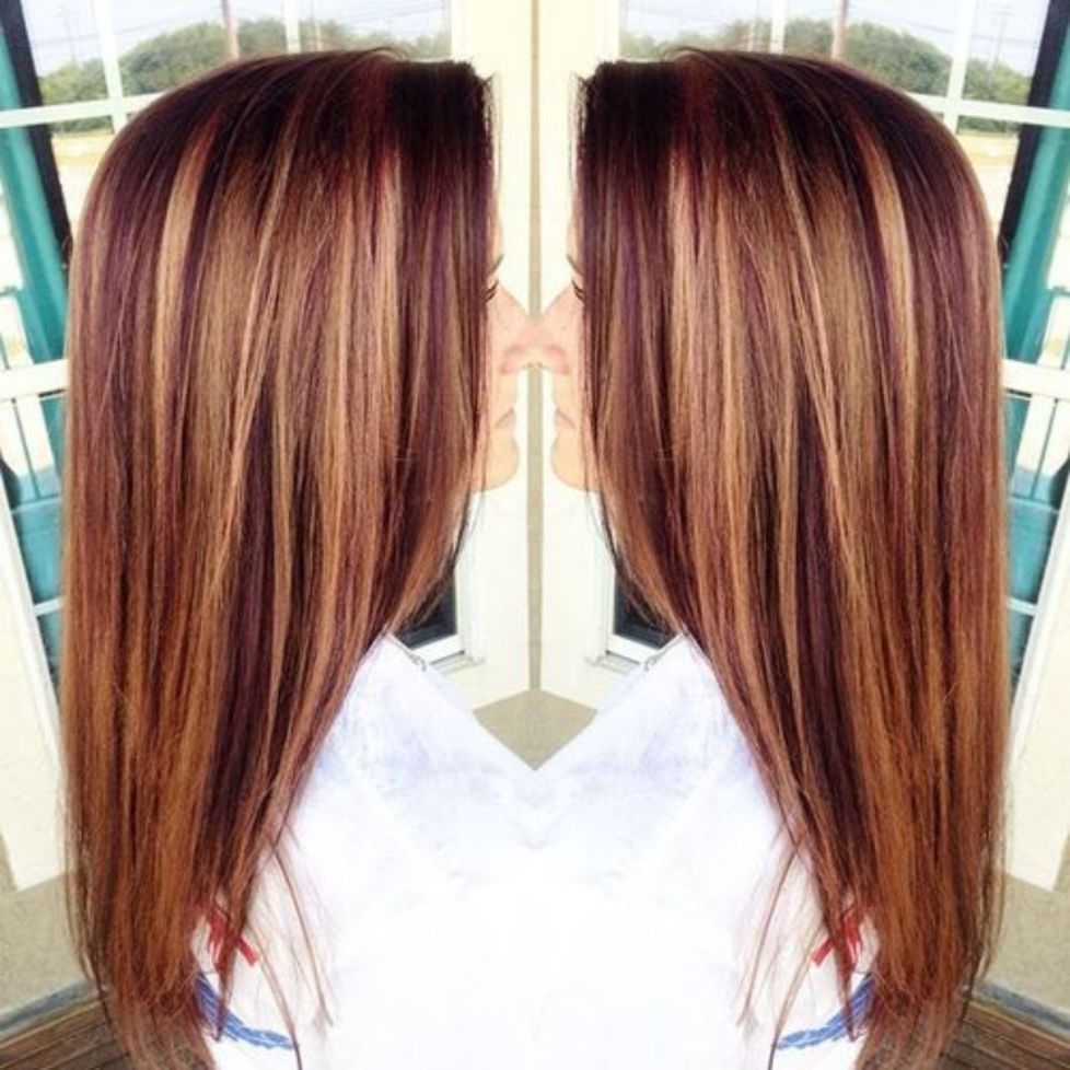 Auburn Hair 4 Caramel And Auburn Lowlights Adult