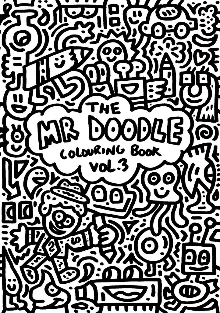 Mr Doodle Colouring Book Vol 3