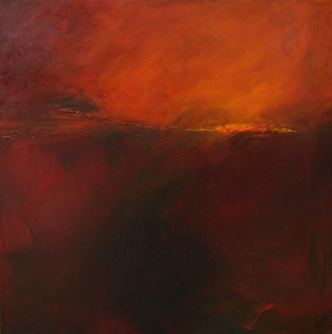 Carol Jenkins - Beyond Darkness, Acrylic 30 x 30