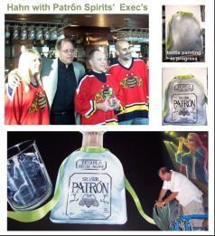 Patrón Platinum Club mural in Sunrise Florida by James R. Hahn #Patrón #mural #Bar