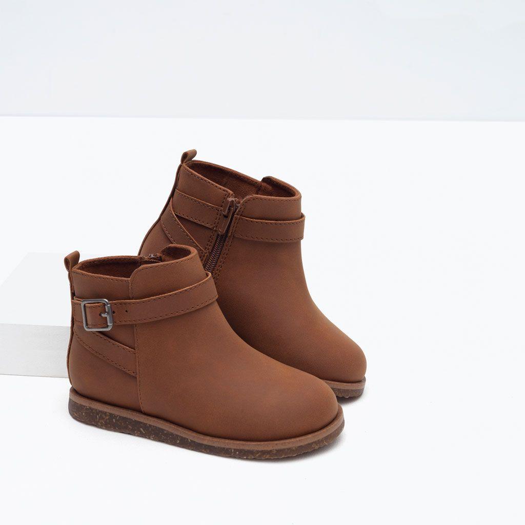 Años 3 Zapatos Meses Zara Bebé Botín Hebilla Niña México Niños 14Ywq4AS
