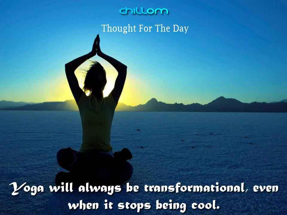 In Life.. Go the Yoga Way...