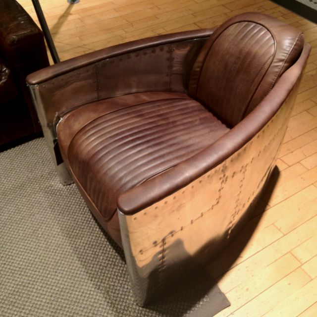 Aviator chair from Restoration Hardware  want  wishlist