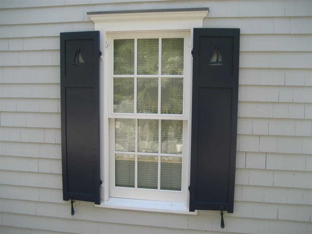 Sailboat Cutouts Ideas For Our House Pinterest Interior Shutters Exterior Shutters And