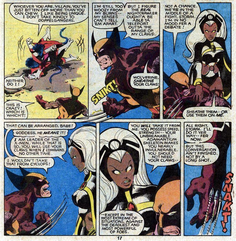 ea8d4848e8c Sheathe your claws Wolverine.   John Byrne Art   X men, Comic book ...