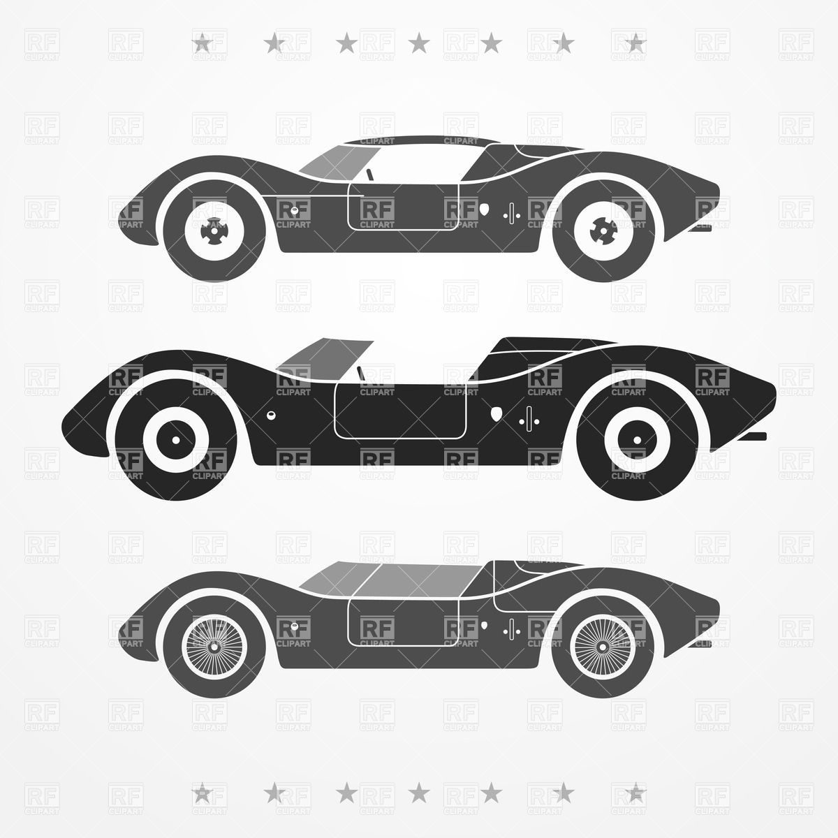 vintage race car silhouette - Google Search | baby room ...
