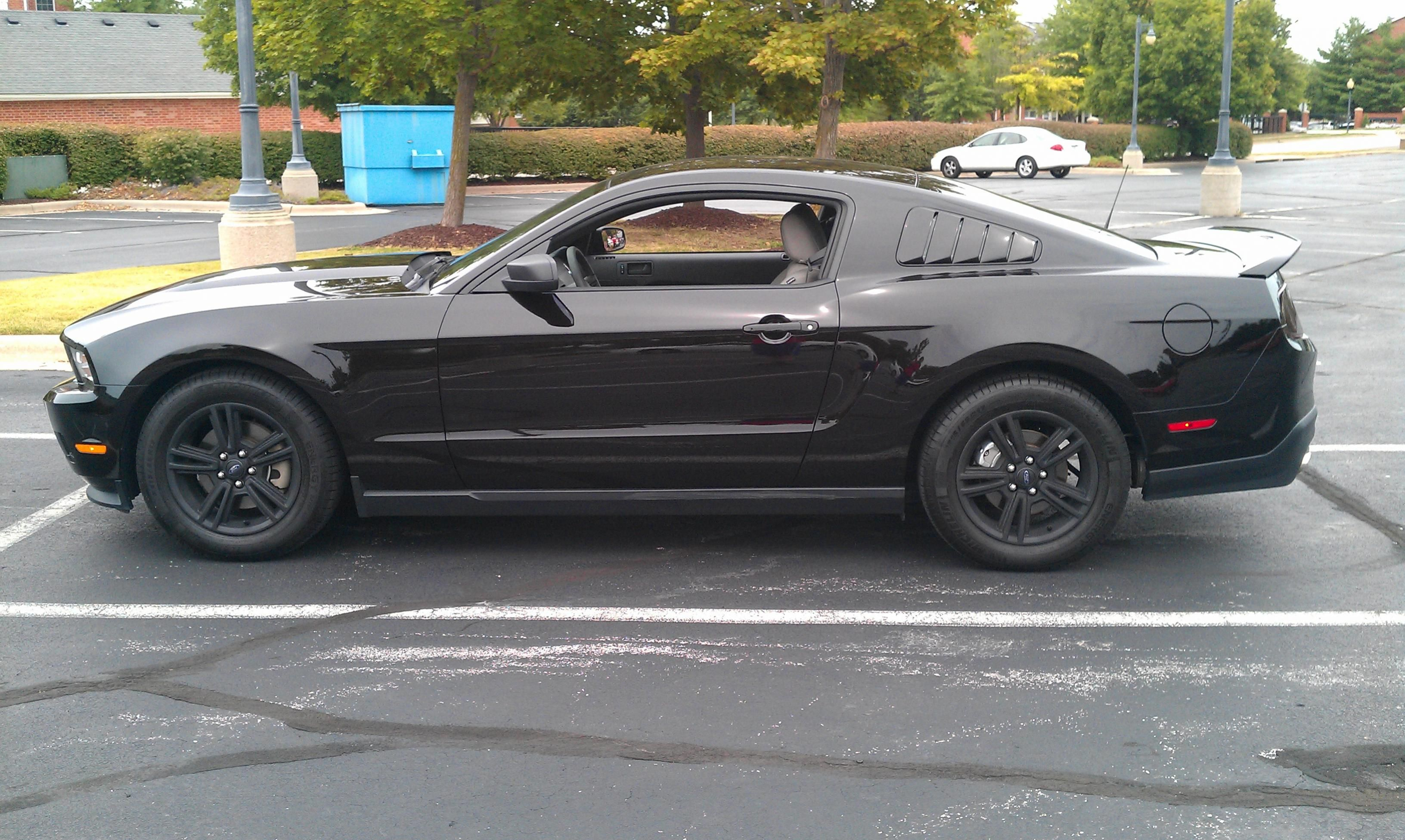 2013 mustang v6 coupe plasti dip mods ford mustang forums