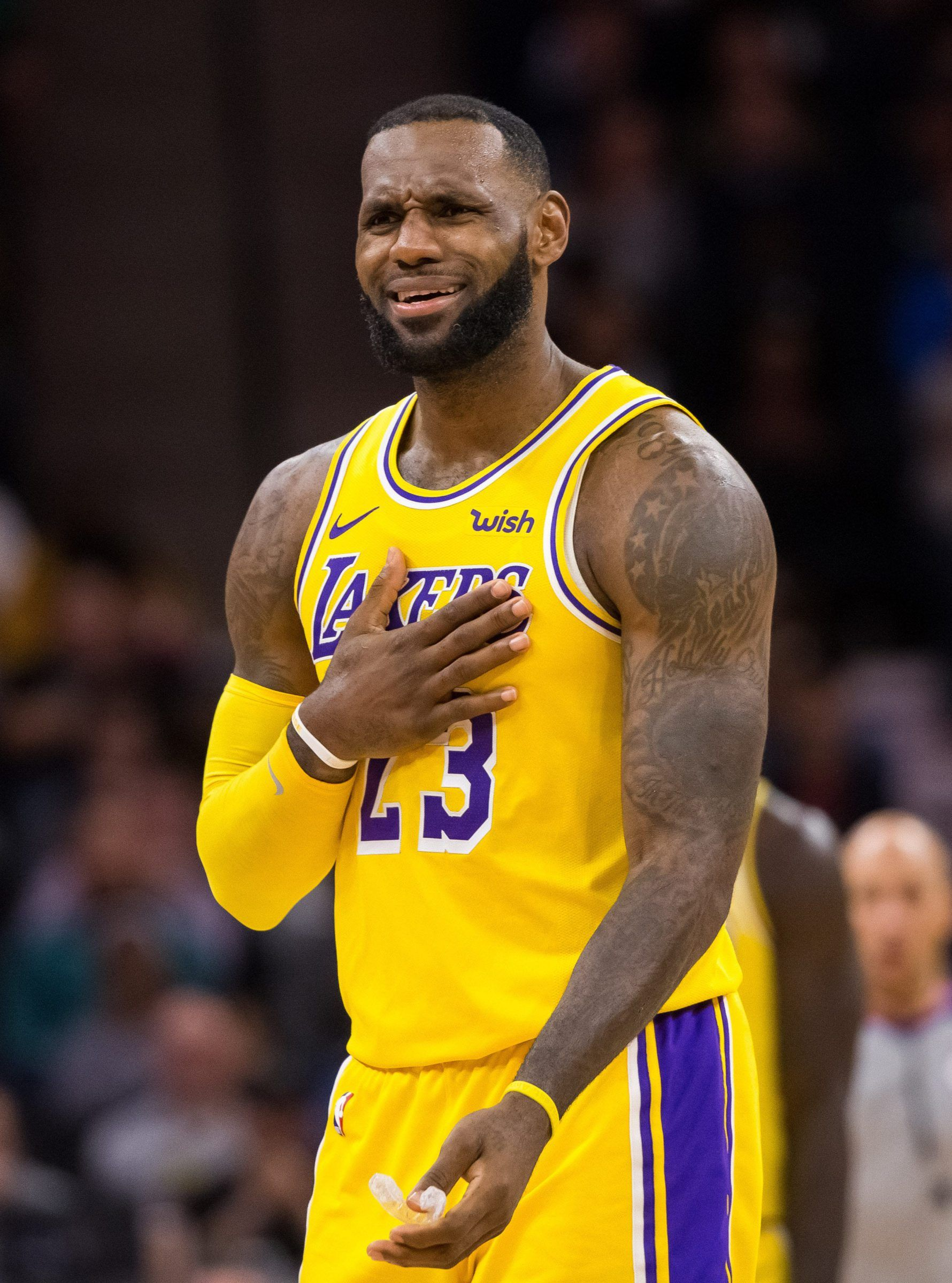 Lebron James In 2020 Lebron James Lebron Lakers