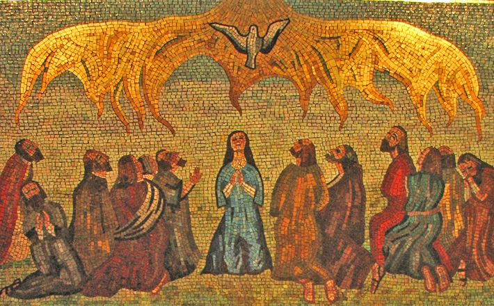 what happened on the day of pentecost