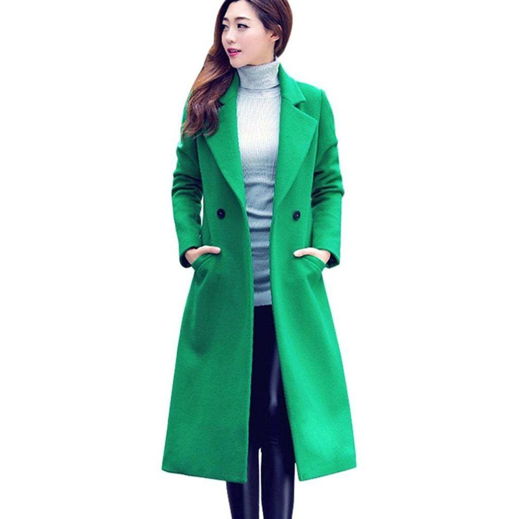 Jushye Hot Sale Cardigan Jackaet Coat Ladies Fashion Autumn Winter Long Woolen Coat Overcoat Parka Outwear Shop2online Best Woman S Fashion Products Designed Woolen Coat Winter Coats Women Long Coat Jacket