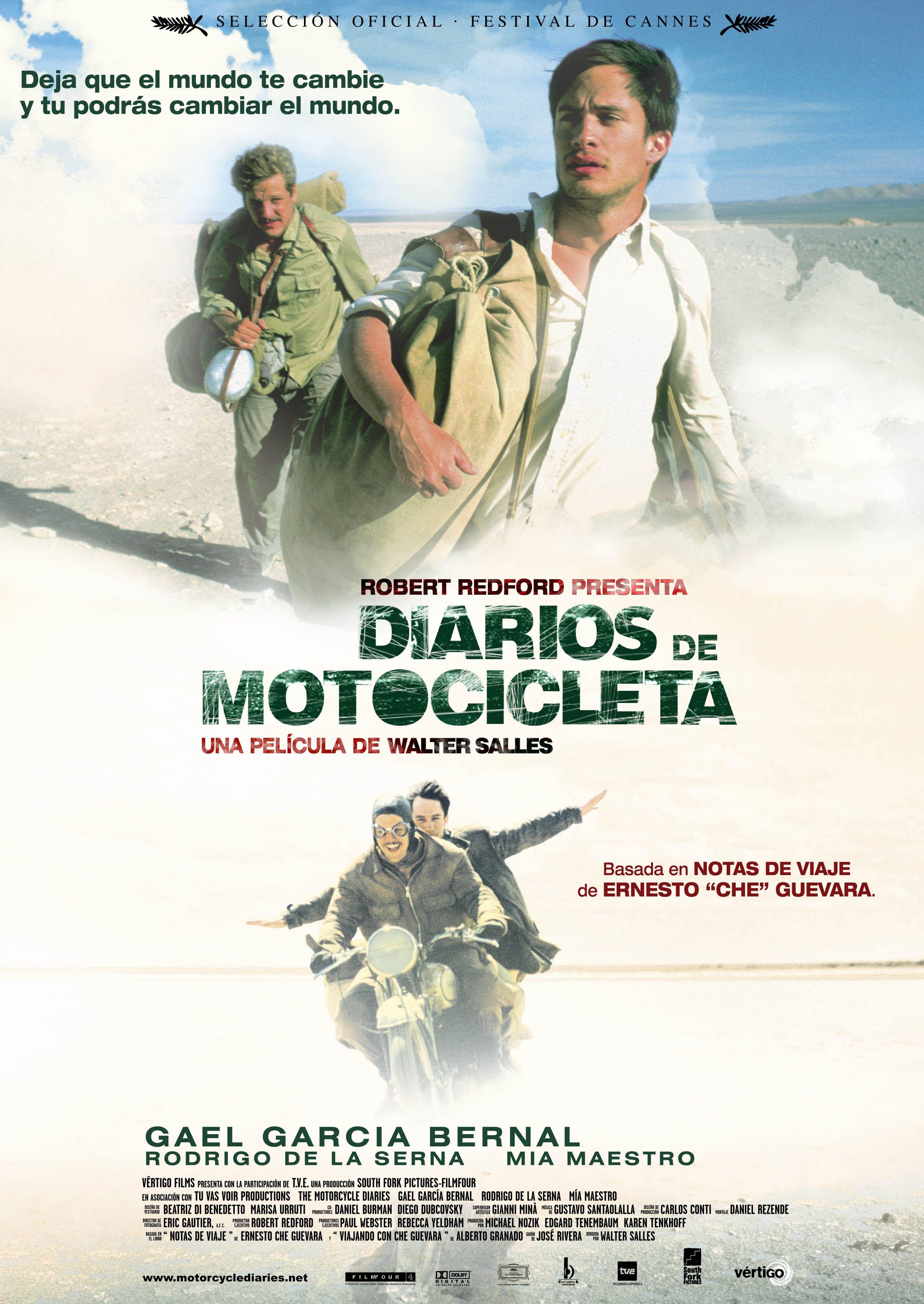 Diarios De Motocicleta Motorcycle Diaries Film Afişleri Sinema Film