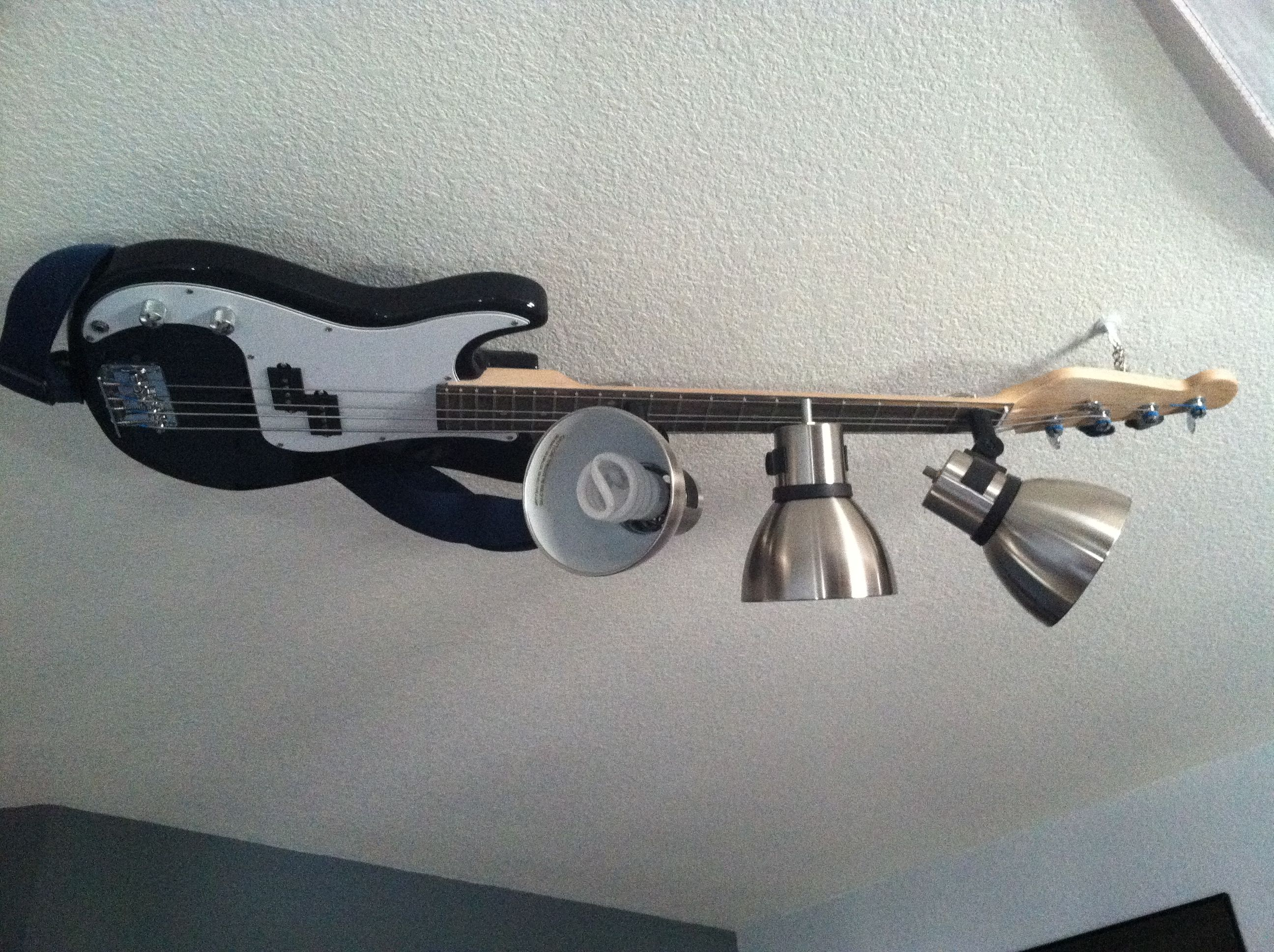 Guitar lamp made by Fred Ludwig - contact whatfredsaid@yahoo com