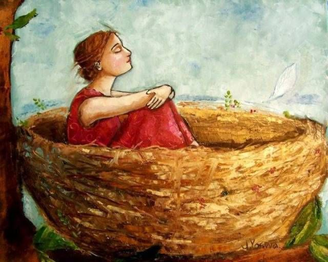 Rest Nest Art By Jennifer Yoswa Artisti Arte Illustrazioni