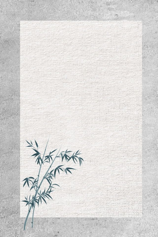 Chinese Style Simple And Fresh Bamboo Celebrity Quotes Poster Background Material