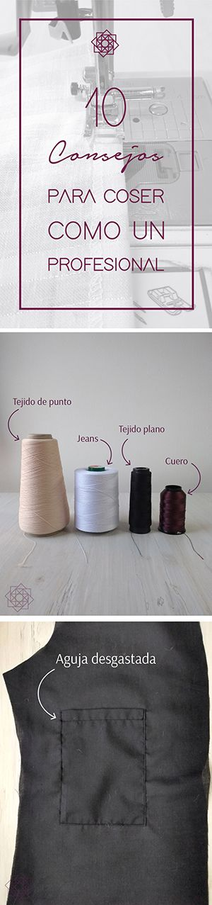 Tips de costura. Costura fácil paso a paso. Costura para ...