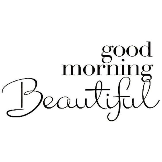 Beautiful Good Morning Quotes 24 Good Morning Beautiful Quotes  Pinterest  Morning Greetings .