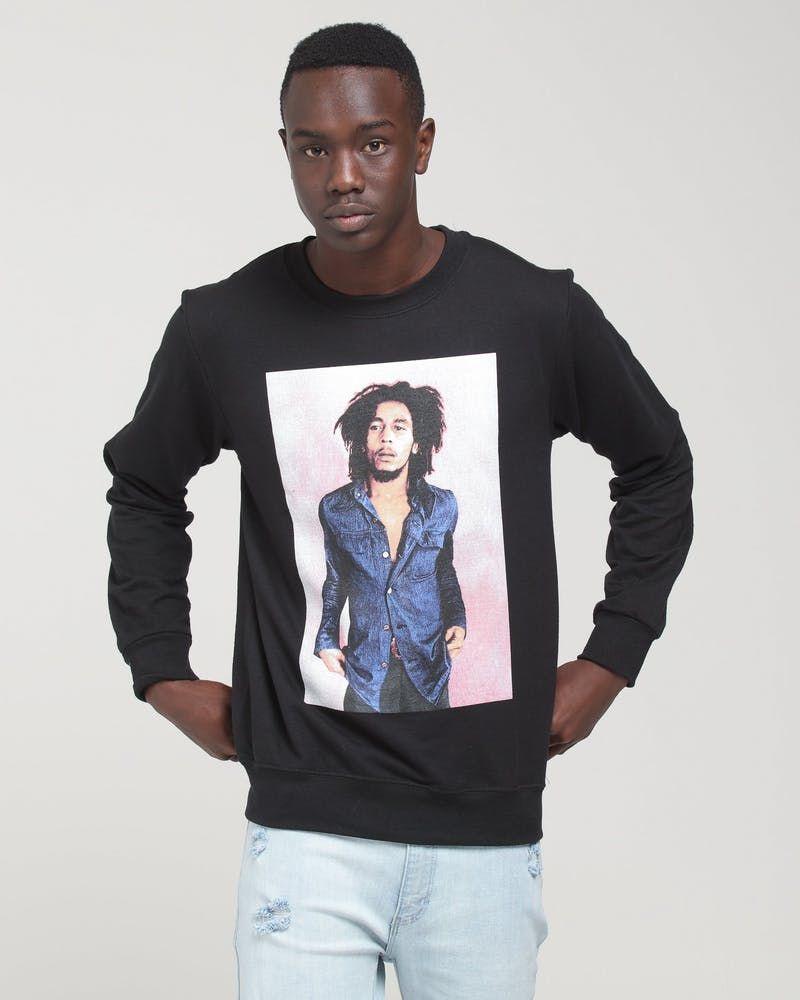 Bob Marley Pink Photo Crewneck Fleece Black Culture Kings Us In 2020 Pink Photo Bob Marley Graphic Sweatshirt [ 1000 x 800 Pixel ]