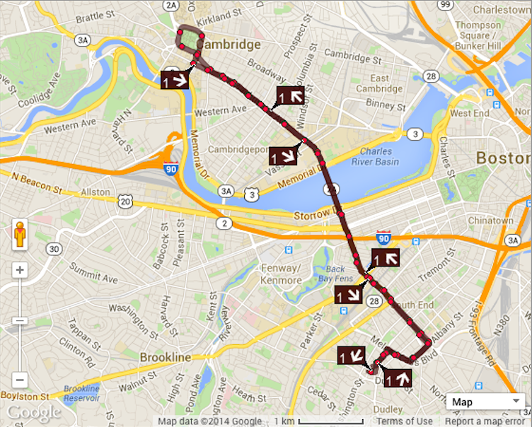 New MBTA Google Maps Realtime Bus and Subway Arrivals Tool Available Google Map Of Boston on