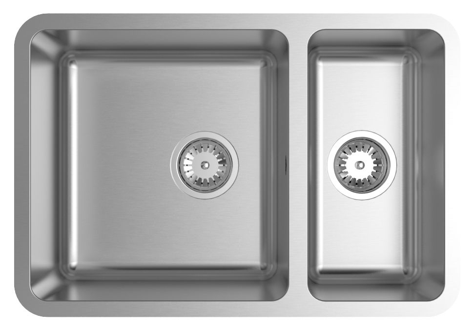 Abey Lg180upk Lago 1 And 1 3 Bowl Undermount Sink Pack Bowl Sink Inset Sink Undermount Sink