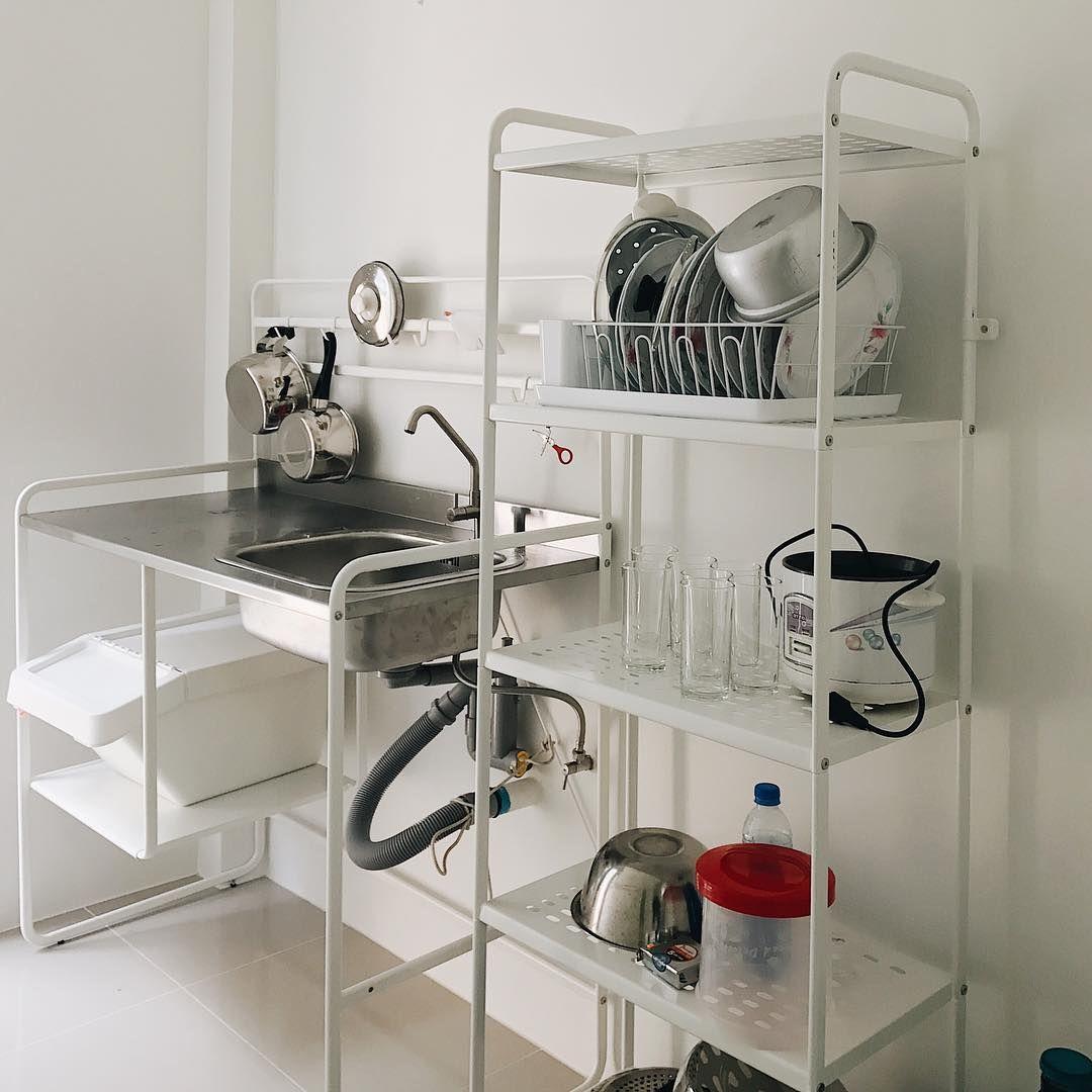 my mini kitchen ️ ikea sunnersta kitchen Original post