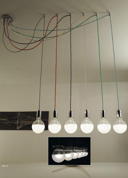 idea, lampade sospensione, Vesoi | fai da te arredamento ...